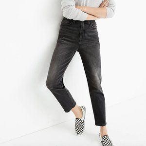Madewell Momjean in Dunstable Wash Comfort Stretch